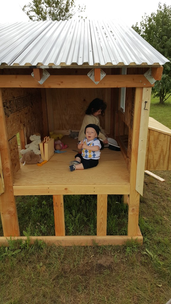 Kids still think the coop should be for them!